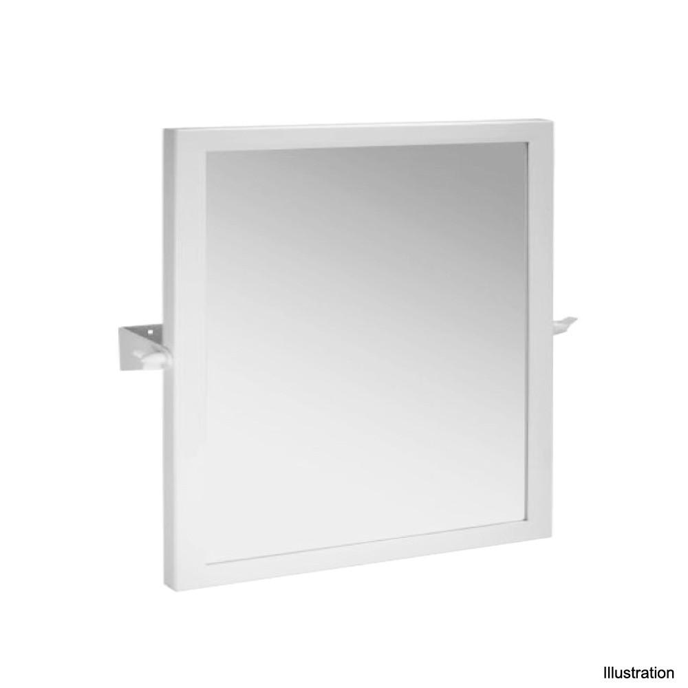 kippspiegel edelstahl 600x600mm bad barrierefrei zubeh r badezimmer badartikel ebay. Black Bedroom Furniture Sets. Home Design Ideas